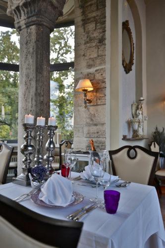 Das einzigartige Ambiente im Schlossrestaurant auf Schloss Elgersburg