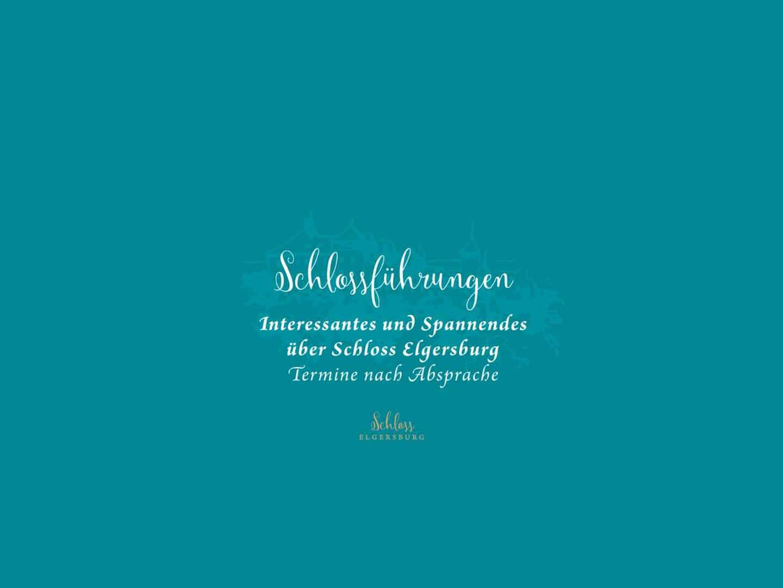 Führungen auf Schloss Elgersburg