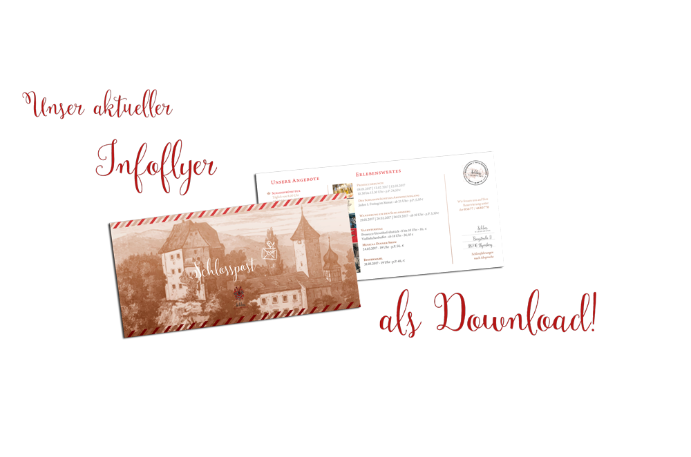 Schloss Elgersburg Infoflyer & Schlosspost als Download